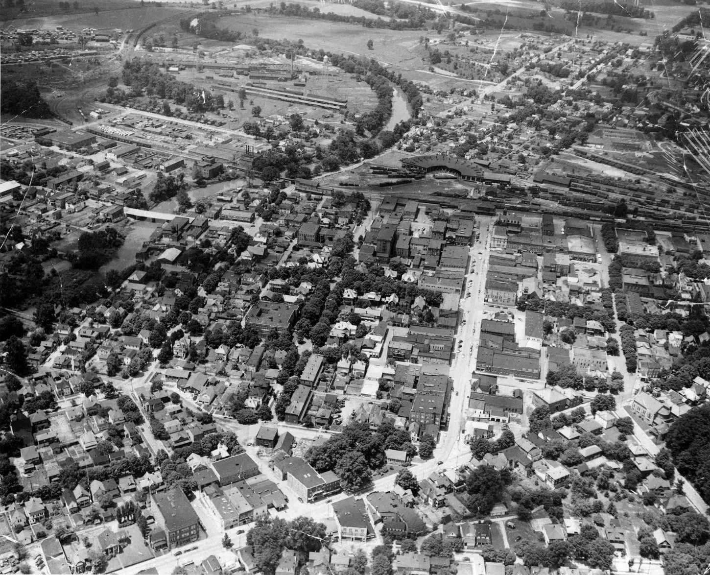 old elkins from the air